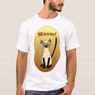 Chemise de chat siamois t-shirt