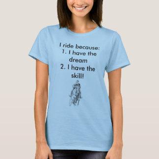 chemise de cheval t-shirt