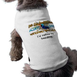Chemise de chien tee-shirt pour animal domestique