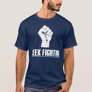 Chemise de combat de geek t-shirt