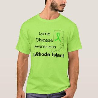 Chemise de conscience de la maladie de Lyme dans T-shirt