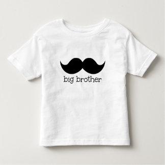 Chemise de frère, avec la moustache t-shirt pour les tous petits