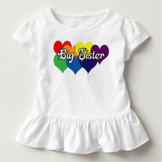 Chemise de grande soeur t-shirt pour les tous petits
