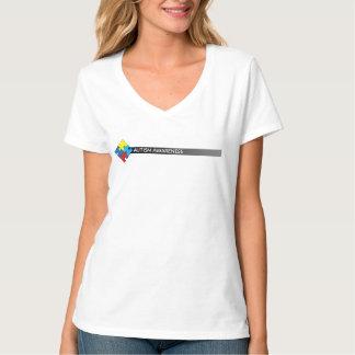 Chemise de l'autisme des femmes t-shirt