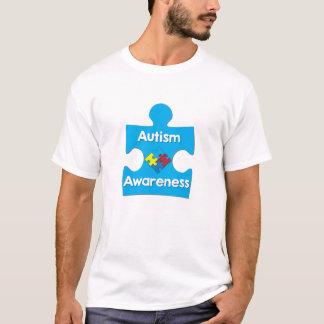 Chemise de l'autisme des hommes t-shirt
