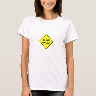 Chemise de maternité de bosse en avant t-shirt