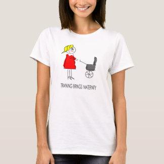 Chemise de maternité drôle : La formation apporte T-shirt