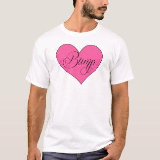 Chemise de maternité mignonne de coeur de bosse t-shirt