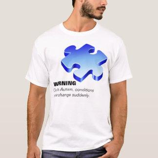 Chemise de parent d'autisme t-shirt