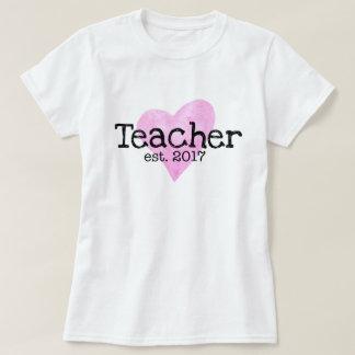 Chemise de professeur, est de professeur. 2017, t-shirt