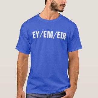 chemise de pronom d'ey/em/eir t-shirt