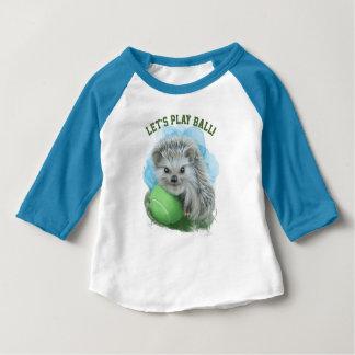 Chemise de raglan de douille du bébé 3/4 t-shirt pour bébé