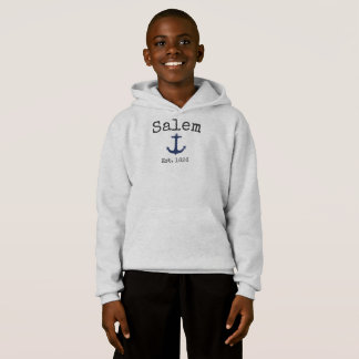 Chemise de Salem le Massachusetts pour des garçons