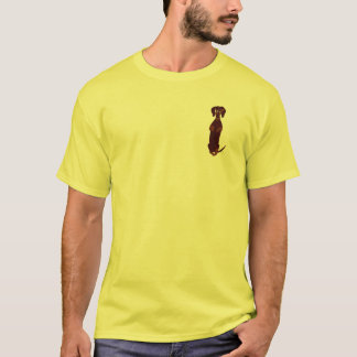 Chemise de Sidney de teckel T-shirt