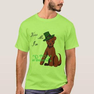 Chemise de Terrier irlandais du jour de St Patrick T-shirt