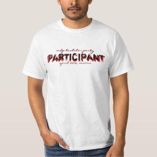 chemise d'enterrement de vie de jeune garçon de t-shirt