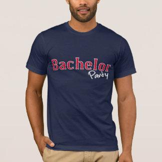 Chemise d'enterrement de vie de jeune garçon t-shirt