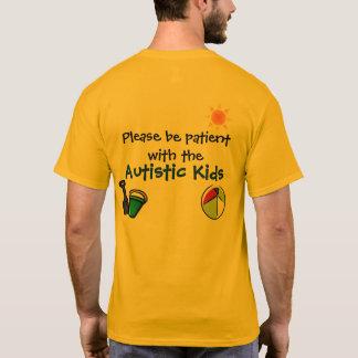 Chemise d'été de sensibilisation sur l'autisme t-shirt