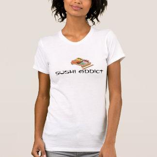 Chemise d'intoxiqué de sushi t-shirt