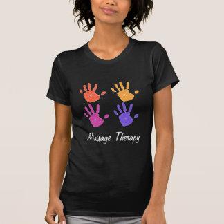 Chemise DK de dames de thérapie de massage T-shirt