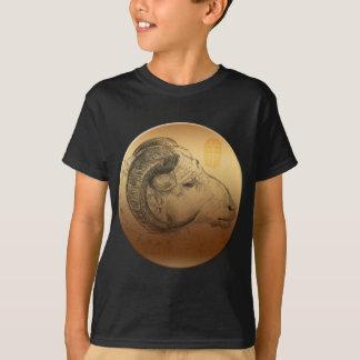 Chemise d'or du zodiaque K d'Astrologue de Chinois T-shirt