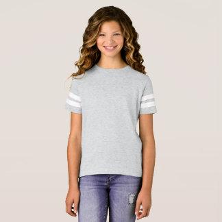 Chemise du football des filles t-shirt