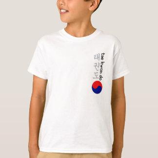 Chemise du Taekwondo d'enfants T-shirt