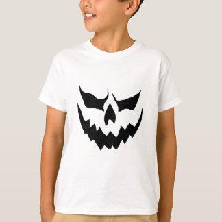 Chemise effrayante de citrouille de Childs T-shirt