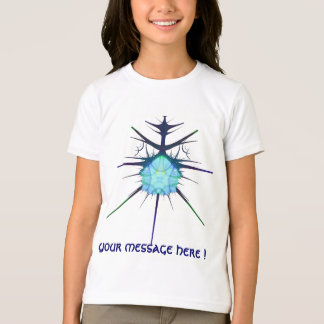chemise étrangère bleue de frac, avec votre t-shirt