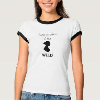 Chemise folle par giroflées comportant Jane Austen T-shirt