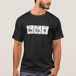 Chemise foncée de base de lard t-shirt