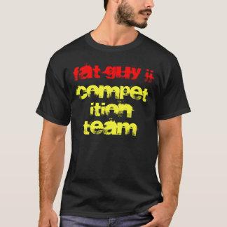 Chemise foncée d'ÉQUIPE de CONCURRENCE du TYPE JJ T-shirt