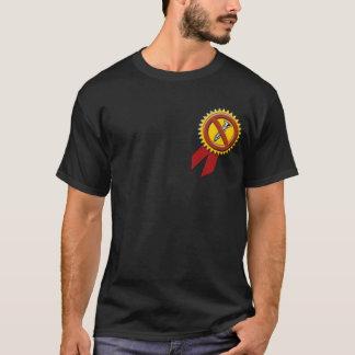 chemise foncée dévissée 2 t-shirt