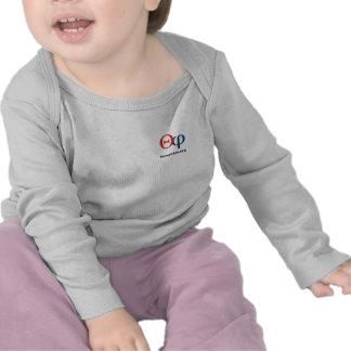 chemise infantile de douille de logo de theophiles t-shirts
