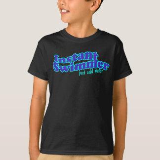 Chemise instantanée d'obscurité de nageur t-shirt