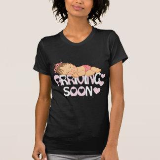 Chemise mignonne de bébé pour la maternité t-shirt