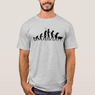 Chemise moderne d'évolution t-shirt