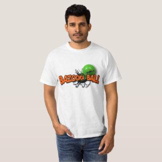 Chemise officielle de logo de boule de bazooka t-shirt