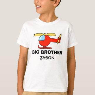 Chemise personnalisée d'hélicoptère de frère pour t-shirt