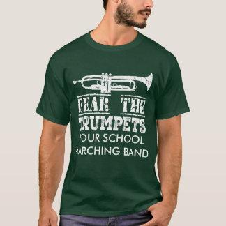 Chemise personnalisée par fanfare de musique de t-shirt