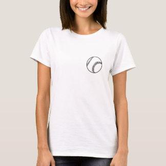 Chemise préférée de lumière de joueur du BB/SB de T-shirt