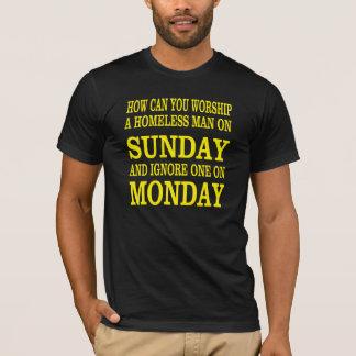 Chemise religieuse avec une bonne question t-shirt