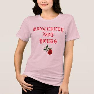 Chemise rose de femmes roses t-shirt