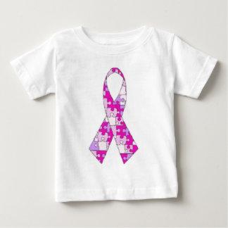 Chemise rose de sensibilisation sur l'autisme t-shirt pour bébé