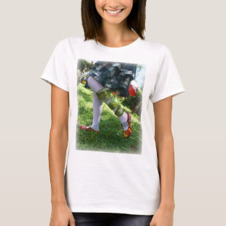 Chemise rouge de conscience du jour t-shirt