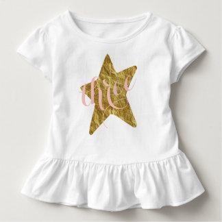 Chemise scintillante de l'anniversaire de la fille t-shirt pour les tous petits