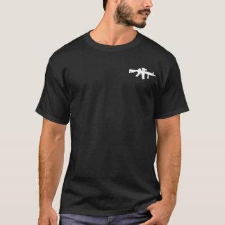 Chemise subtile de l'arme à feu AR-15 chargée T-shirt