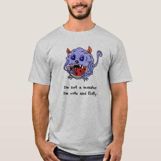 Chemise Toothy mignonne et pelucheuse de monstre T-shirt