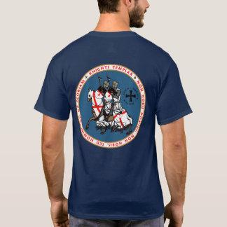 Chemise V2 de joint de chevaliers de Templar deux T-shirt