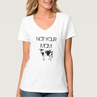 Chemise végétalienne NON VOS droits des animaux de T-shirt